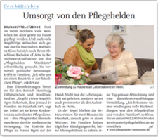 Artikel Pflege Norddeutsche Rundschau